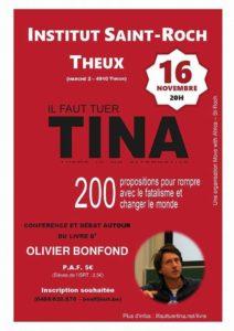 Conférence et débat @ Institut Saint Roch Theux
